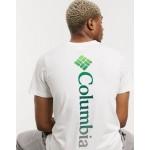 Columbia Rapid Ridge graphic t-shirt in white