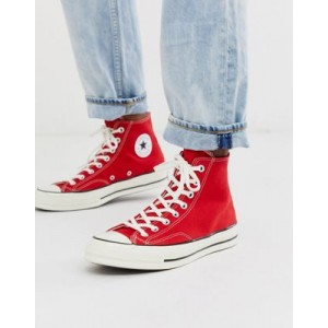 Converse Chuck 70 Hi Sneakers in Red