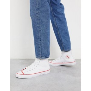 Converse Chuck Taylor All Star leather sneakers in white