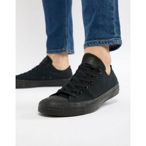 Converse chuck taylor all star ox sneakers in black