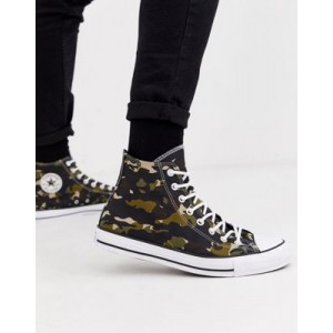 Converse Chuck Taylor All Star sneakers in camo print