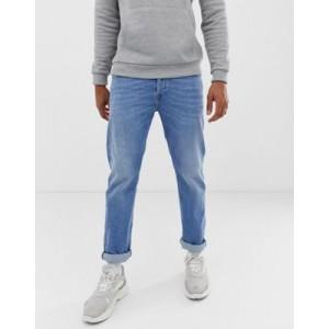 Diesel Buster regular slim fit jeans in 087AQ light wash