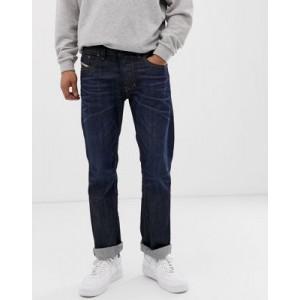Diesel Larkee straight fit jeans in 0806W dark wash