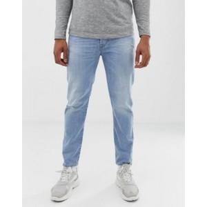 Diesel Mharky 90s slim fit jeans in 080AF light wash