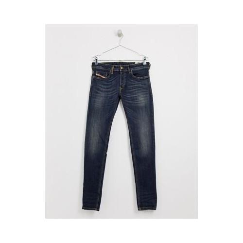 디젤 Diesel Sleenker-X skinny fit jeans in 069FX green cast