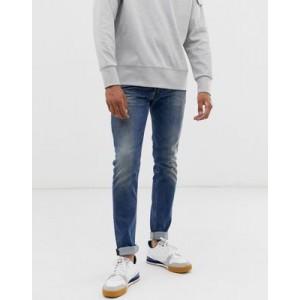 Diesel Sleenker-X skinny fit jeans in 082AB mid wash