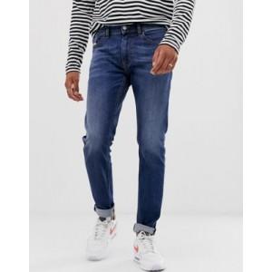 Diesel Thommer stretch slim fit jeans in 082AZ mid wash