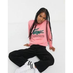 Lacoste sweatshirt with retro croc logo
