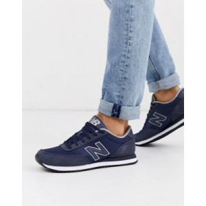 New Balance 501 sneakers in navy
