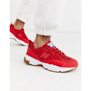 New Balance 801 sneakers in red