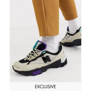 New Balance 801 Trail Sneakers in stone Exclusive at ASOS