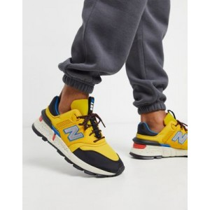 New Balance 997S trail sneakers in yellow
