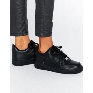 Nike Air Force 1 '07 Sneakers In Black