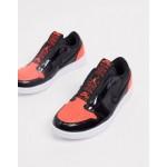 Nike Air Jordan 1 retro low red and black slip on sneakers