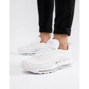 Nike Air Max 97 sneakers in triple white