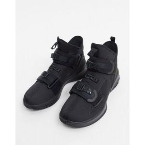 Nike Basketball Lebron Soldier XIII sneakers in black