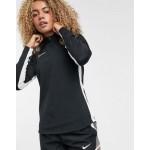 Nike Soccer dry academy long sleeve top in black