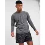 Nike Swimming long sleeve hydroguard in black