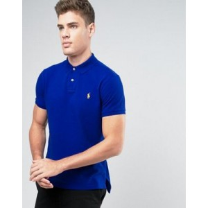 Polo Ralph Lauren Polo Shirt Custom Regular Fit Pique