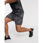 Puma Training all over logo shorts in black