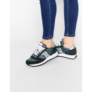 Saucony Jazz Original Navy & Silver Sneakers