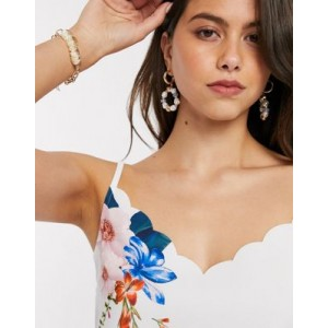 Ted Baker ratana jamboree floral scalloped cami