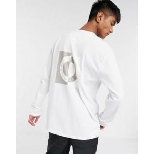 Topman LTD long sleeve t-shirt with circle print in white