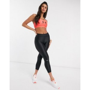 Under Armour Training heatgear cropped leggings in black