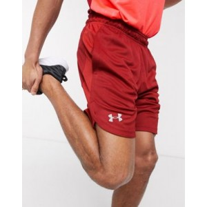 Under Armour Training knitted shorts in red