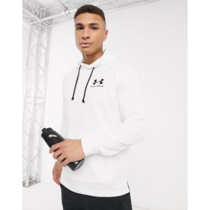 Under Armour Training terry hoodie in white