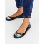 Vivienne Westwood for Melissa flat shoes in black