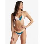 Holiday Jungle Elongated Triangle Bikini Top
