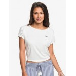 Happy Memories Cropped Tie-Back T-Shirt