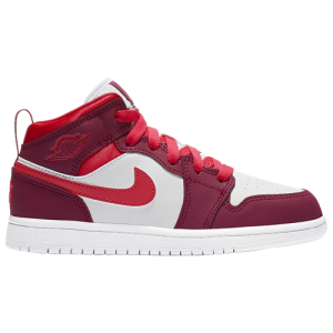 Jordan AJ 1 Mid VDay - Girls' Preschool