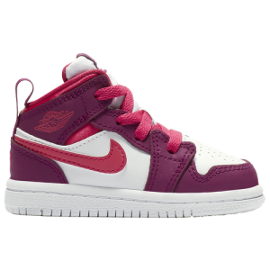 Jordan AJ 1 Mid VDay - Girls' Toddler