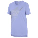 Nike Irridescent Futura Logo T-Shirt - Girls' Grade School