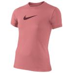 Nike Legend S/S Swoosh T-Shirt - Girls' Grade School