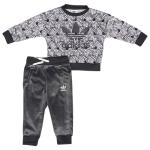 adidas Originals Zebra Crew Set - Girls' Infant