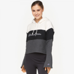 Champion Cropped Colorblock Hoodie - Women's