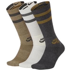 Nike SB 3 Pack Crew Socks - Men's