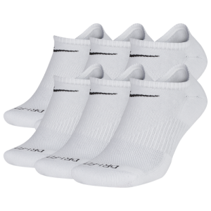 Nike 6 Pack Dri-FIT Plus No Show Socks - Men's