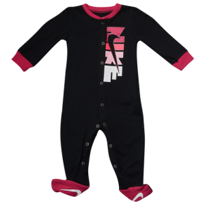 Nike Shimmer Footed Coveralls - Girls' Infant