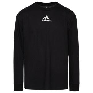 adidas Team Amplifier Long Sleeve T-Shirt - Boys' Grade School