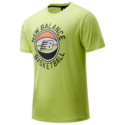 New Balance Basketball Sunrise Graphic T-Shirt - Mens