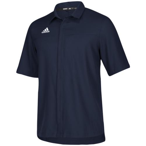아디다스 adidas Team Iconic Full Button Polo - Men's