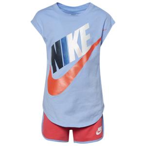 Nike Futura S/S T-Shirt & Shorts Set - Girls' Toddler