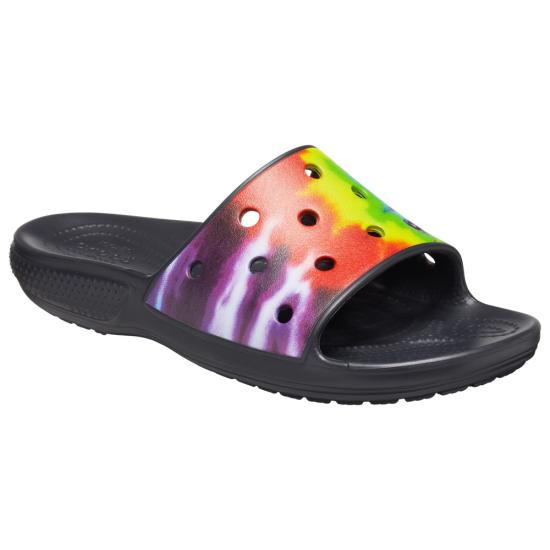 Crocs Tie-Dye Graphic Slide - Mens