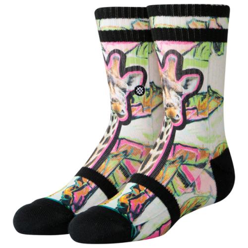 Stance Jungle Gigi Crew Socks - Grade School