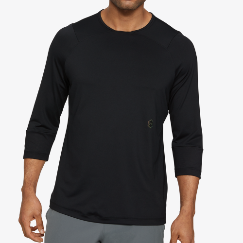 Under Armour Rush Compression 3/4 Sleeve Top - Mens