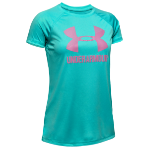 Under Armour Big Logo Solid S/S T-Shirt - Girls' Grade School